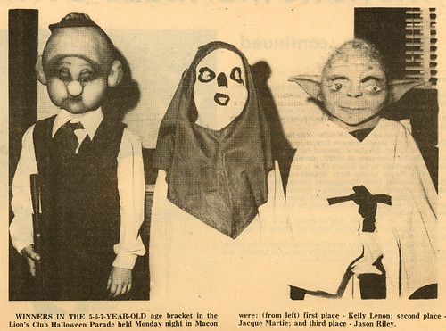 1983 Kids in Star Wars Halloween Costumes | by Neato Coolville