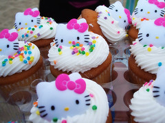 HELLO KITTY CUPCAKES | by OrangeCounty_Girl