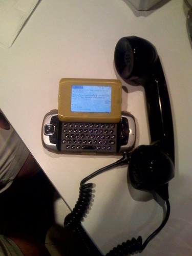 Raines' oldfangled new phone | by scriptingnews