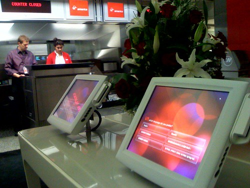 Virgin launch @ SFO gate | by xeni
