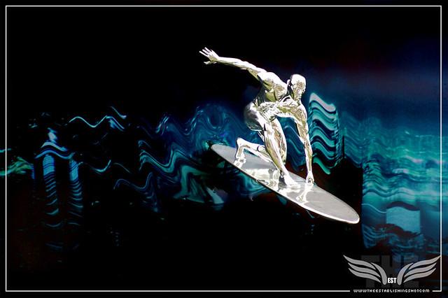 The Establishing Shot: SILVER SURFER BILLBOARD, VAUXHALL, LONDON