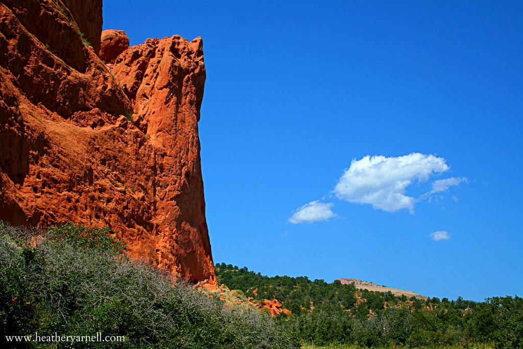 Garden of the Gods Colorado Landscape