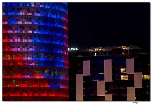 Torre Agbar close-up | by EddyB