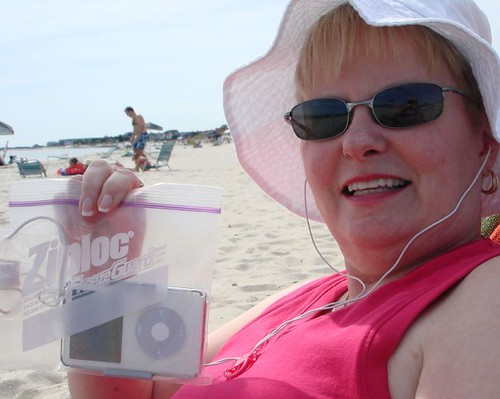 Beach Bag iPod | by midgefrazel