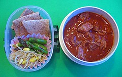 Chili Colorado lunch for preschooler | by Biggie*