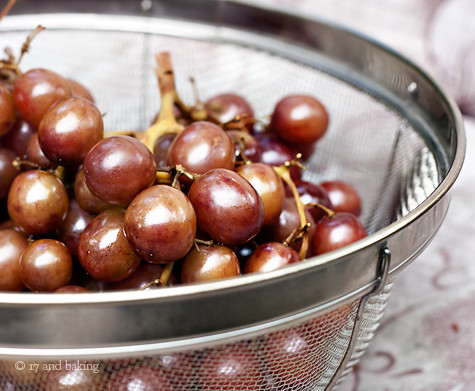 Smoked Grapes | by Elissa @ 17 and Baking