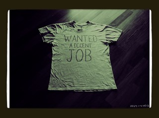 Wanted a Decent Job. | by I'm a Fork in a World of Soup