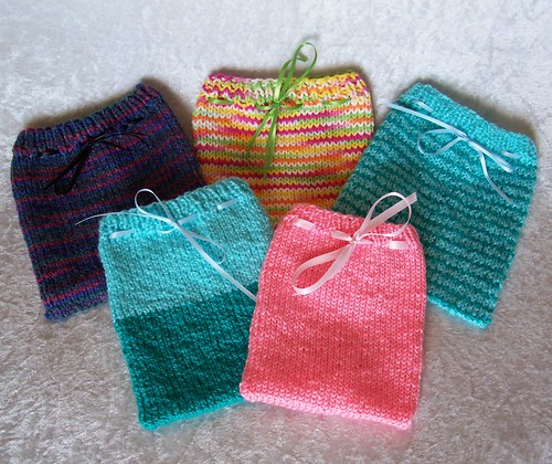 Drawstring Pouches | by nosmallfeet