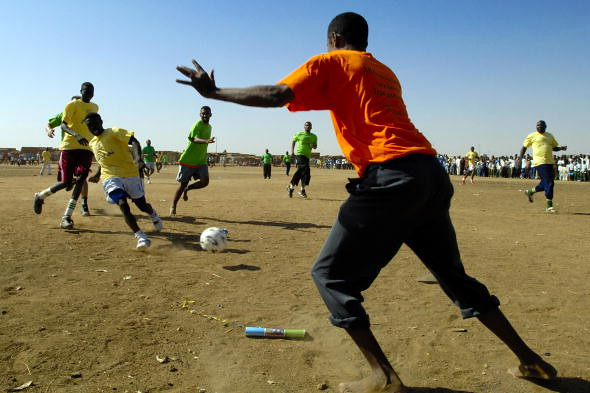 2010 World Cup Kick-off: Sports for Peace