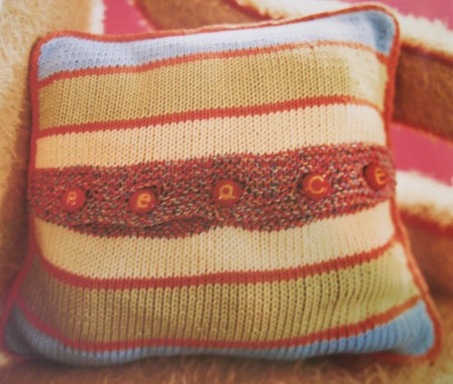 Peace Pillow - back | by Mary-Heather