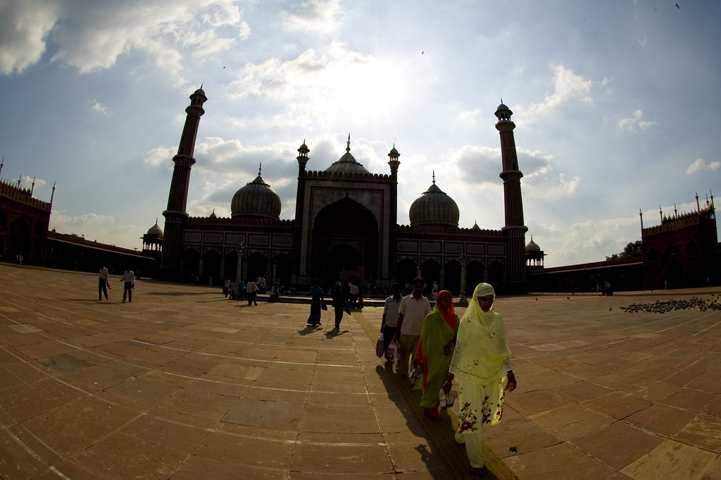 Mezquita Nueva Delhi
