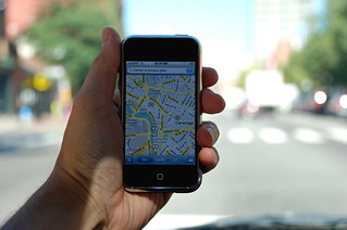 Massachusetts Ave with iPhone Google Maps | by stevegarfield