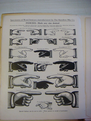 manicules | by Nick Sherman