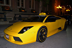 Yellow Taxi, Lamborghini Murcielago | by Buglugs