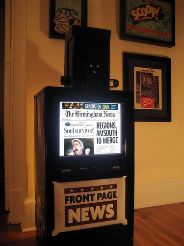 Digital newsstand powered by Mac Mini | by stwalker