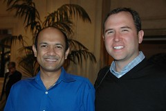 Satish Dharmaraj, Zimbra and Brad Garlinghouse, Yahoo | by dfarber