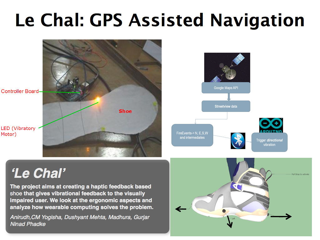 Le Chal: GPS Assisted Navigation