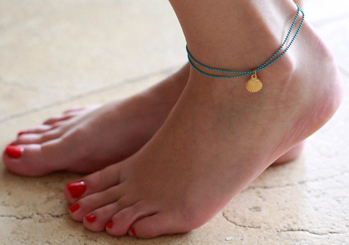anklet jewelry how to draw
