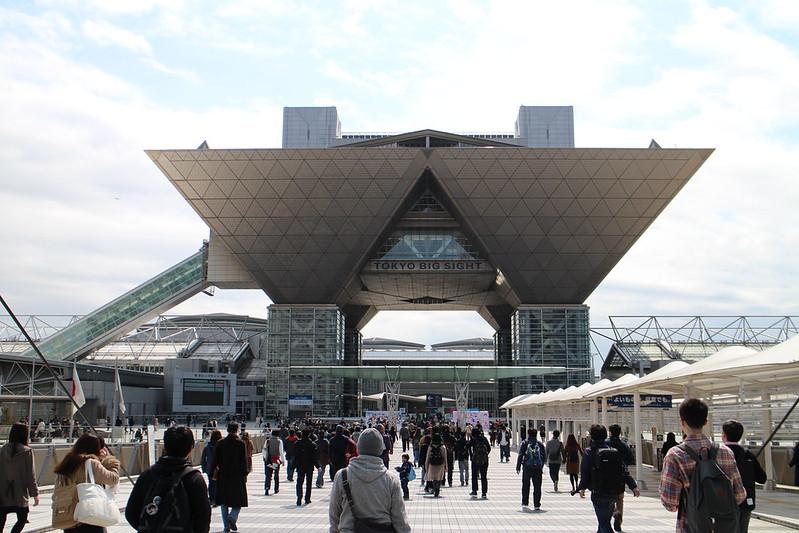 Odaiba March 2016 Tokyo Big Sight AnimeJapan2016