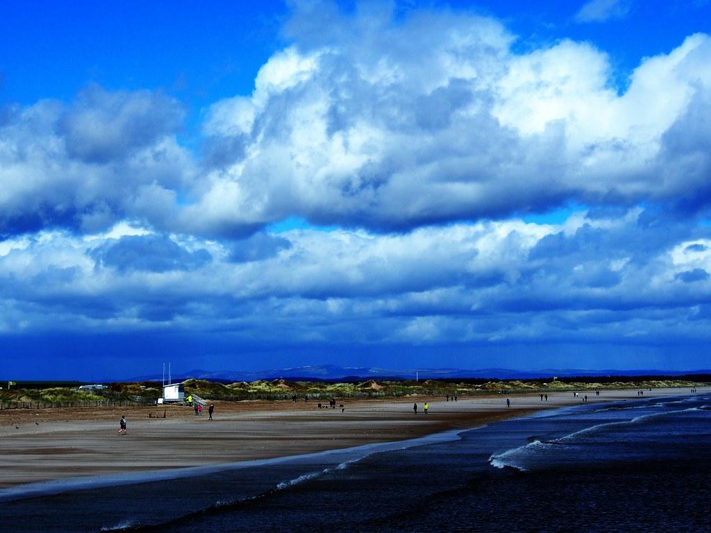 West Sands, St Andrews, Scotland.