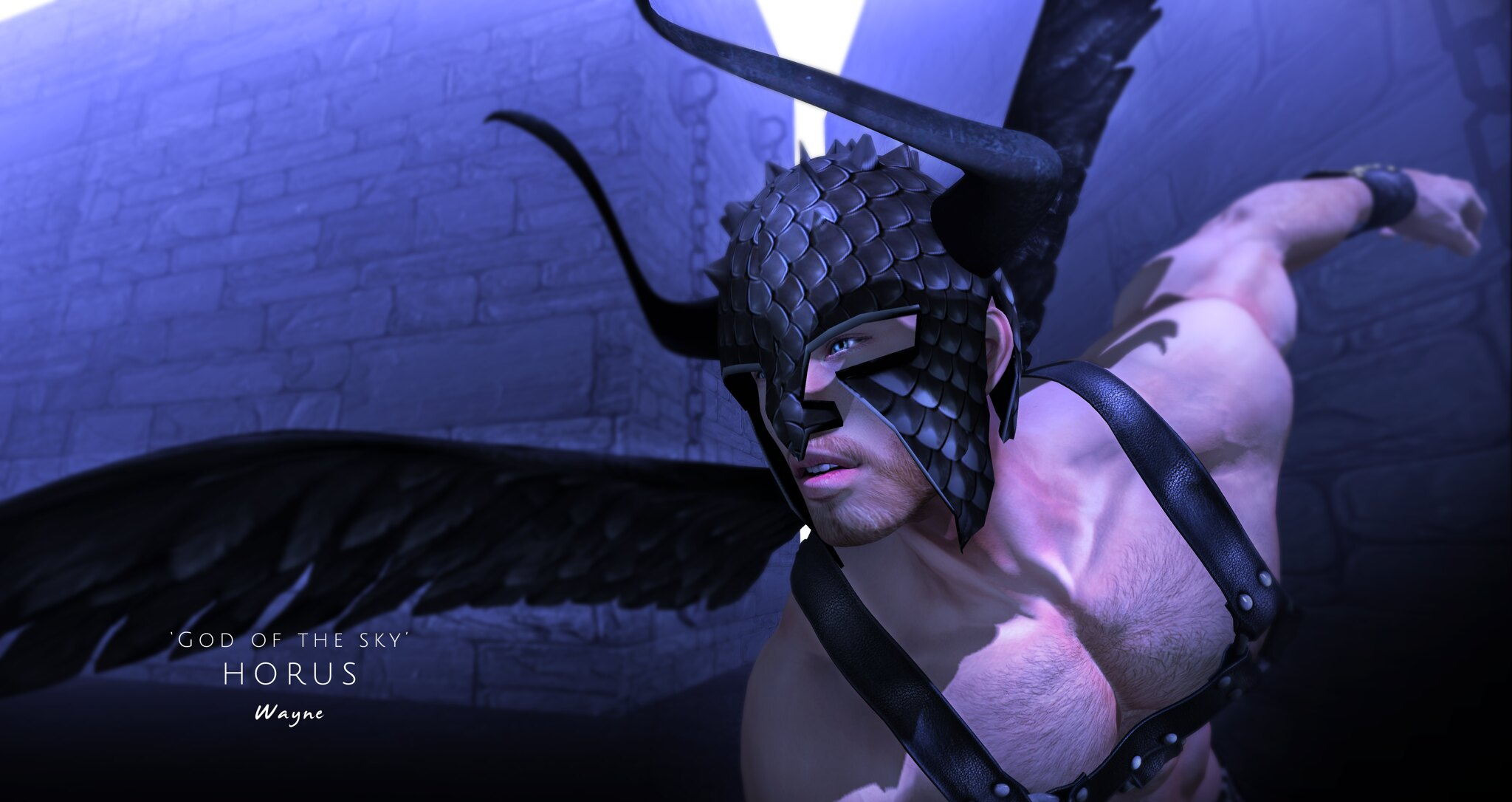 Horus - 'God of the sky'