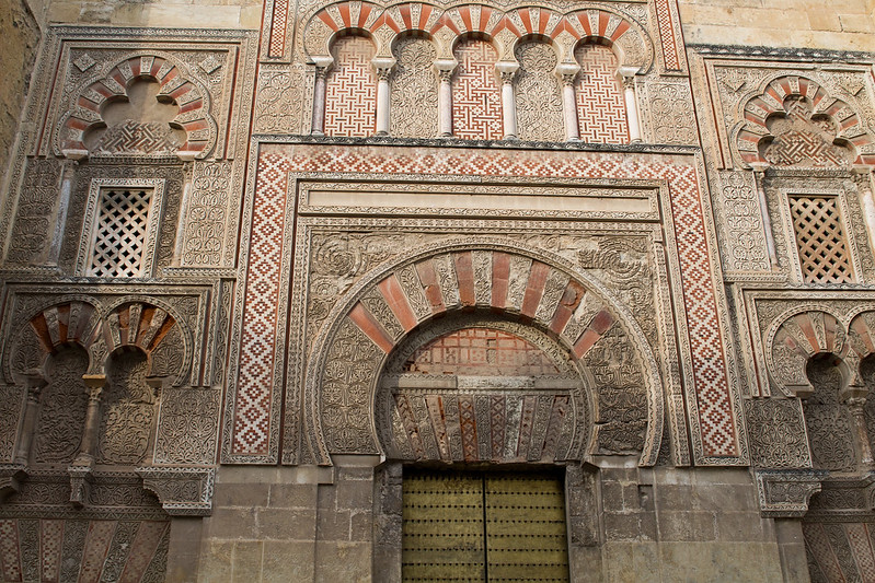 One of the Gates of the Mezquita, Cordoba, Spain | packmeto.com