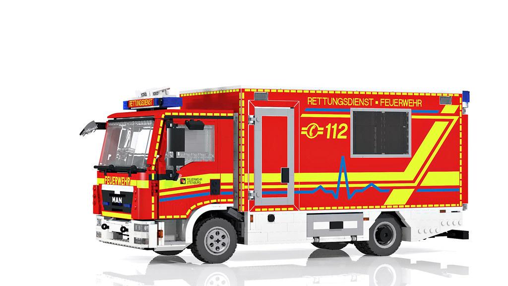 Re Neues Von Der Feuerwehr Steinburg Lego Bei