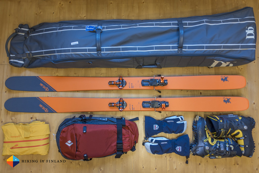 Packing for a ski-tour