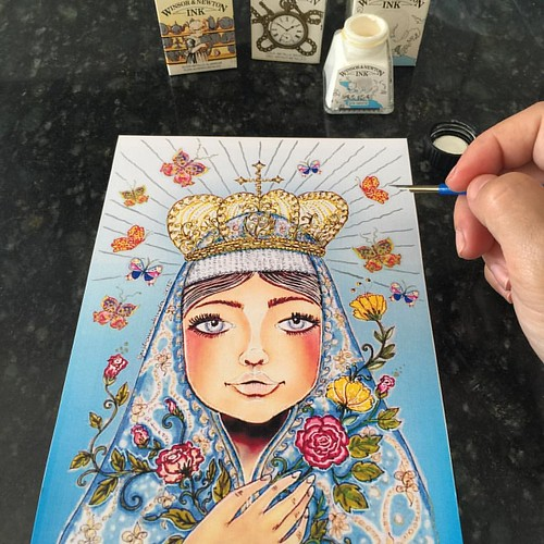 Desenhos e ilustrações da Cris