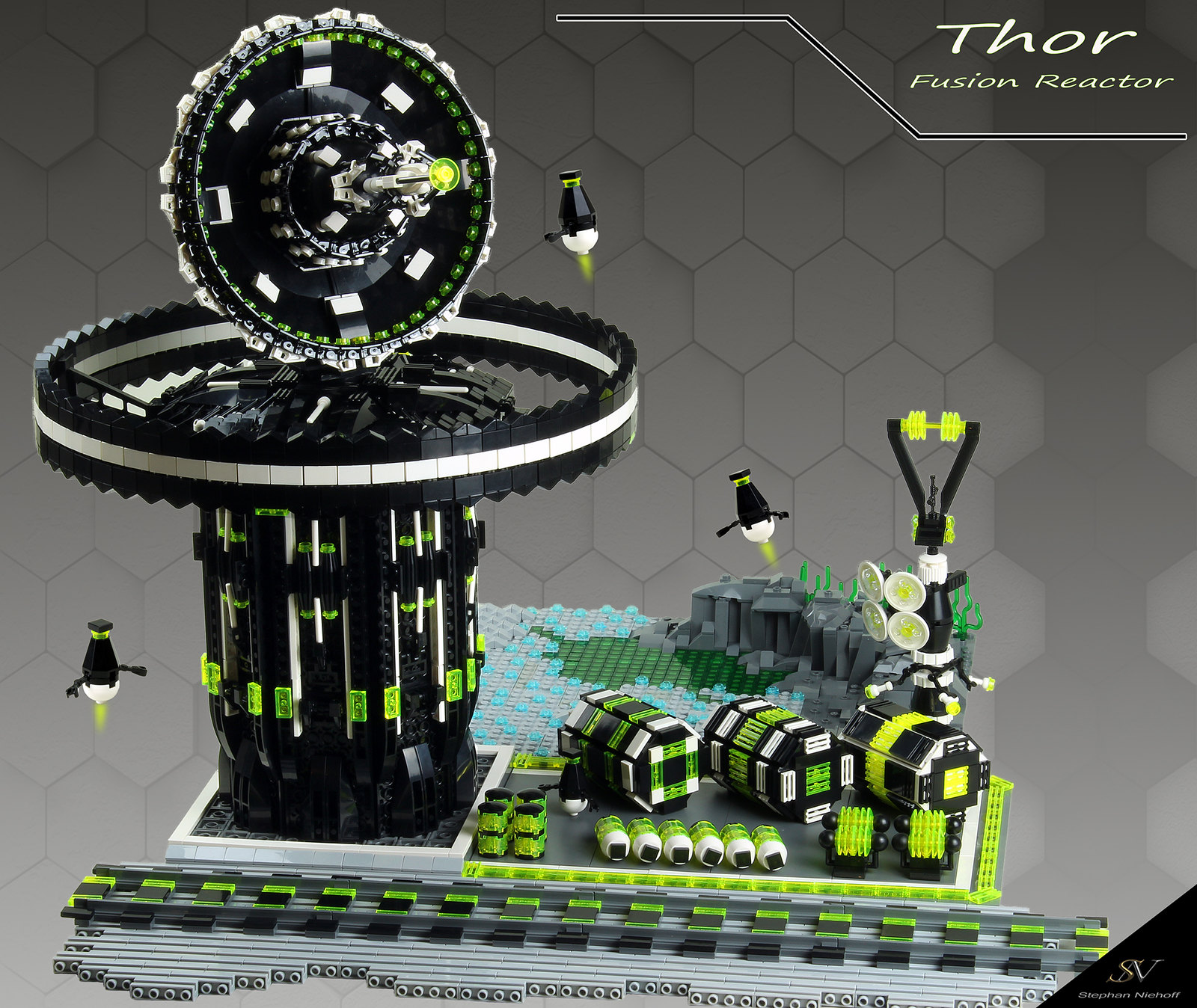 "Projekt ""Blacktron II Special Forces"" Part 4 ""Thor"""