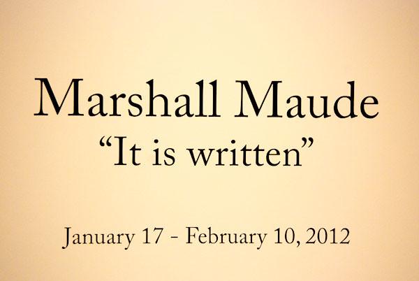 Marshall Maude