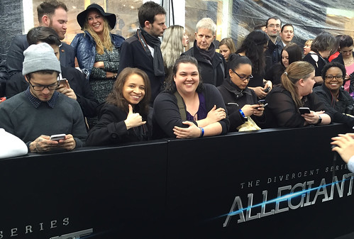 The Divergent Series: Allegiant World Premiere, Red Carpet, and After Party
