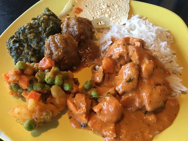 Dinner buffet - Curry Boyzz
