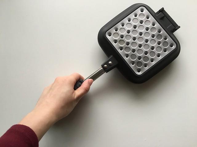 比想像中還要小的D罩杯吐司夾@fujidinos可拆式多用途烤三明治機