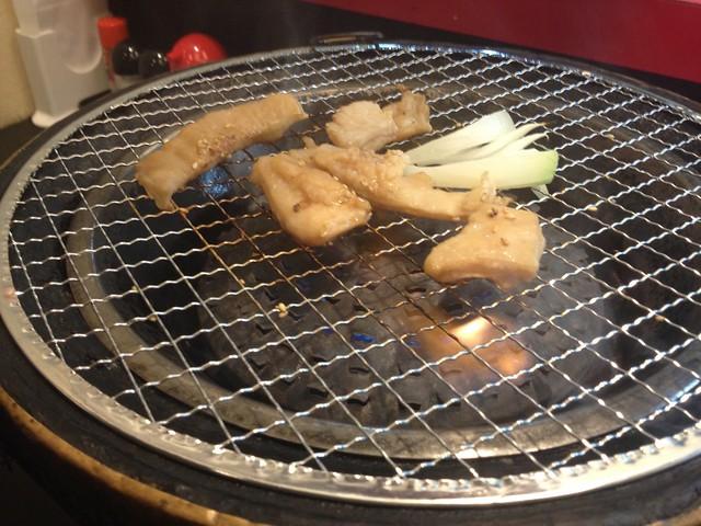 "Burning meat adn Rahmen ""MIYAZAKI"""