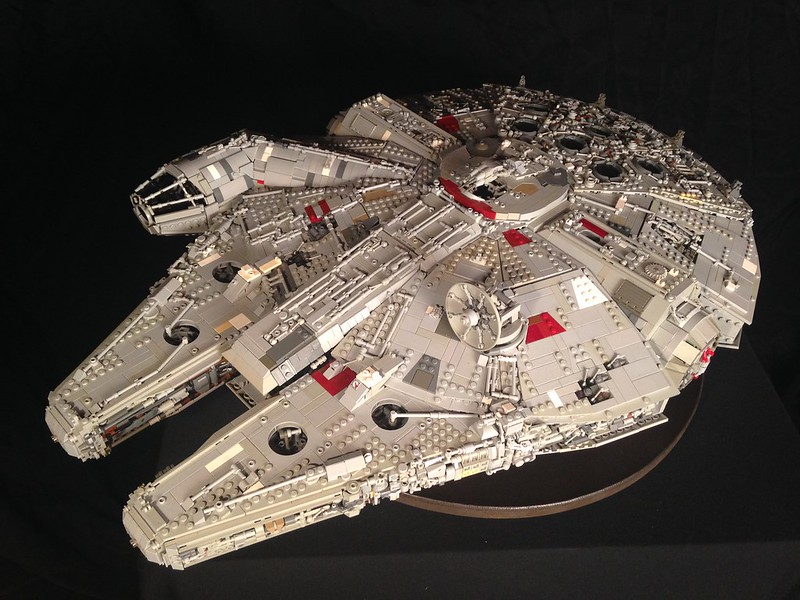 lego millennium falcon 2017 instructions