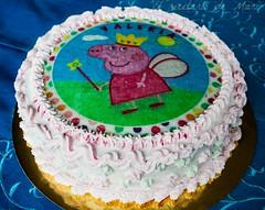 tarta de trufa (Peppa pig)4