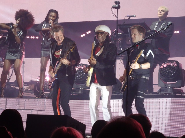Duran Duran & Chic 77