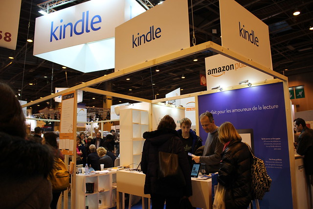 Kindle Amazon - Livre Paris 2016