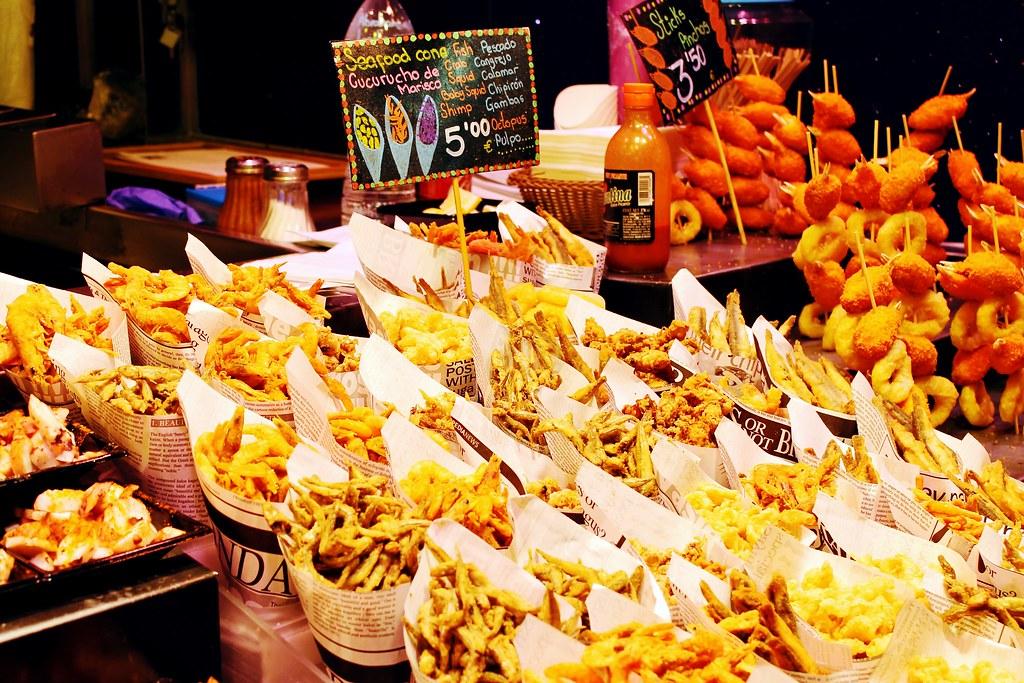 Guia de onde e o que comer em Barcelona - Mercat de la Boqueria