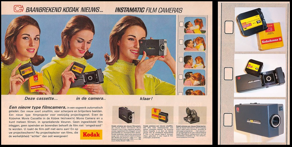 Revolutionary news from Kodak : Instamatic movie cameras