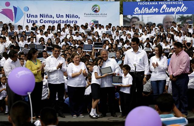 Festival para el Buen Vivir y Gobernando con la Gente Nuevo Gualcho, Usulután
