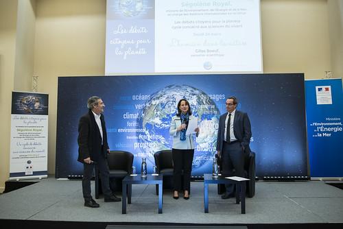 Les débats citoyens pour la planète