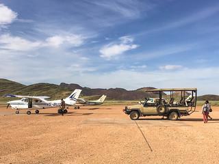Airstrip im Hartmann Valley