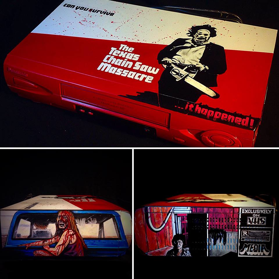 The Texas Chainsaw Massacre custom VCR by Sorce CodeVhs