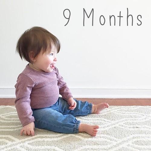 Elle Evergreen: 9 months