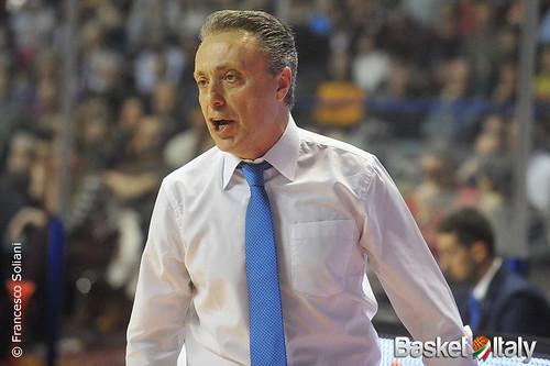 Reyer - Brindisi: Piero Bucchi