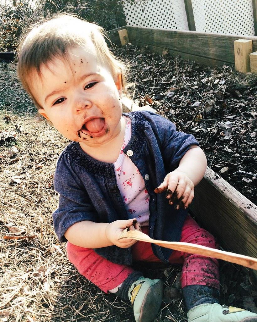 #eatdirt #instasinclair #children #childhood #springtime