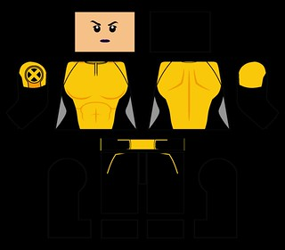 LEGO Negasonic Teenage Warhead Decals (Deadpool) | Please gi… | Flickr