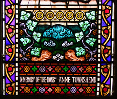 in memory of the Honble Anne Townshend